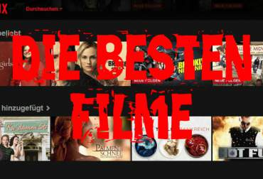 The top 10 movies on Netflix