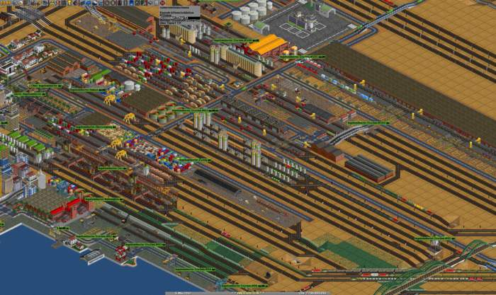 Jeux ferroviaires OpenTTD
