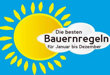 The best Bauernregeln for January-December