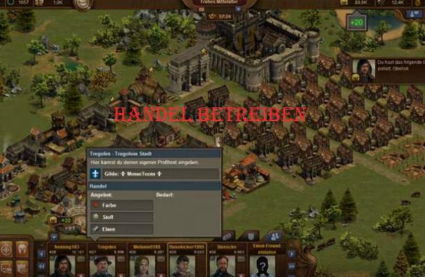 Tips Forge of Empires handel