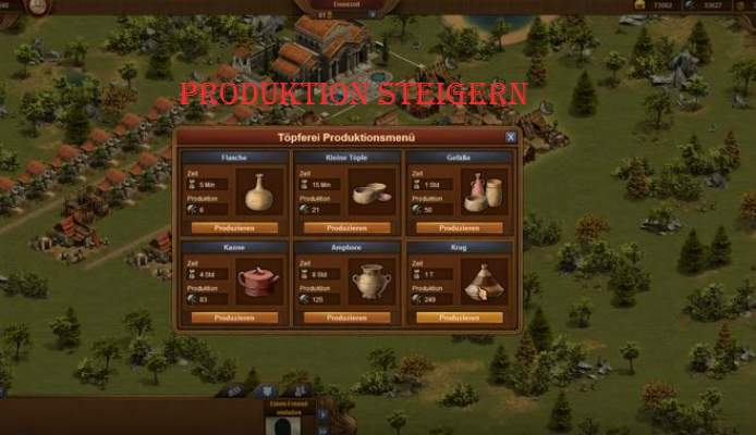 Tips Forge of Empires productiviteit