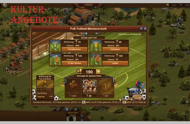 Tips Forge of Empires tevredenheid