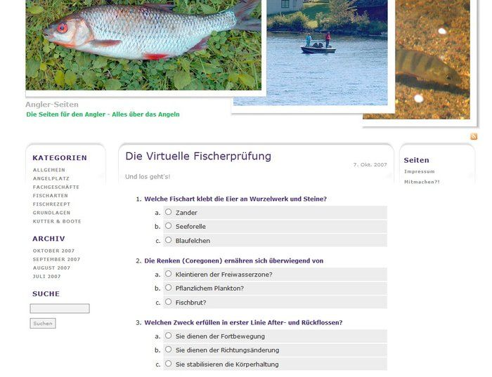 La licencia de pesca virtual descarga
