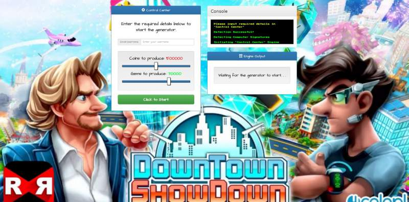 Downtown Showdown Hack