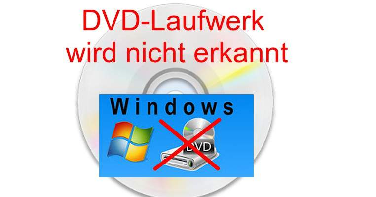 DVD drive is not recognized