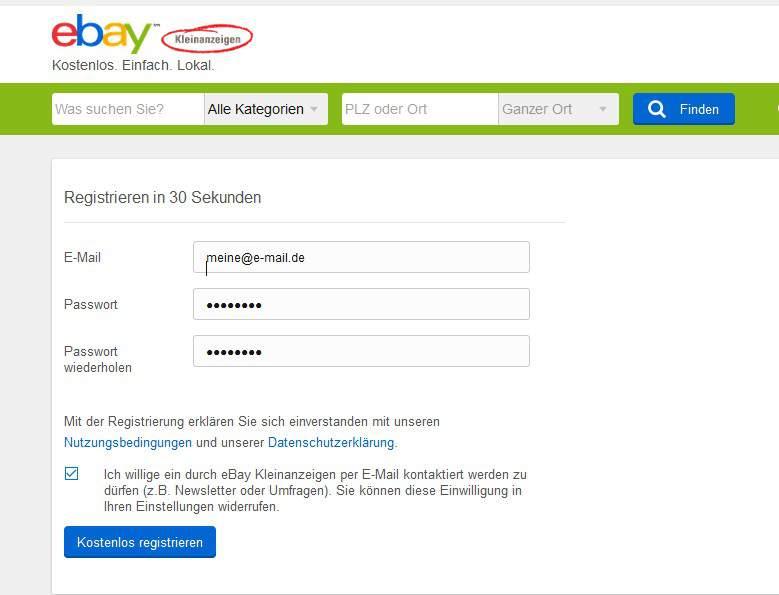 Meine Ebay Login