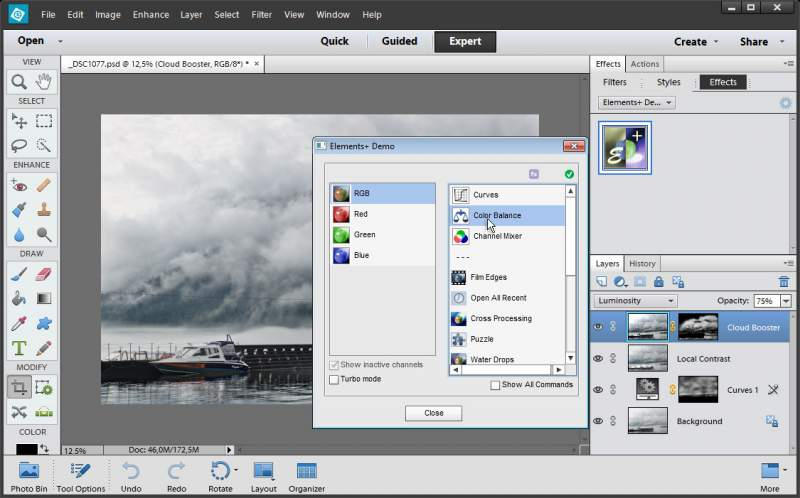 Elements + for Adobe Photoshop Elements Download