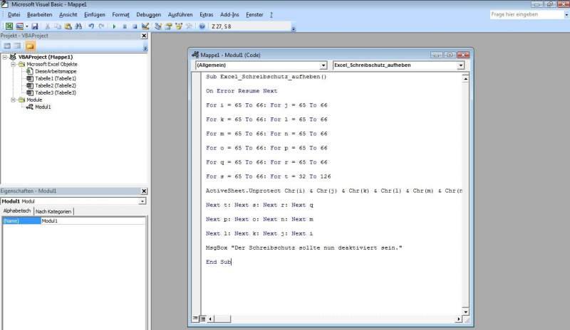 Excel Passwort Entfernen Freeware