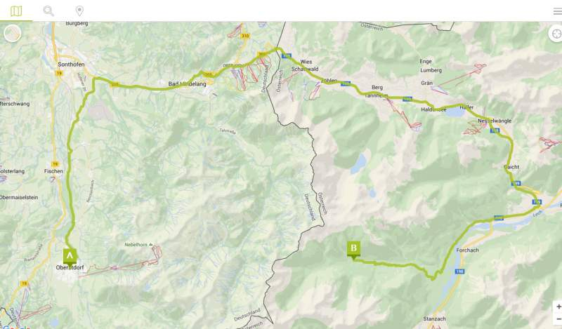 Bicycle route planner Download Route