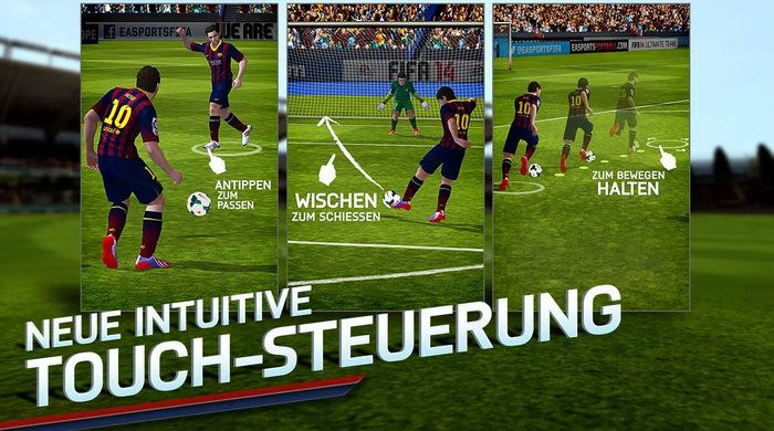 Fifa 14 touch-screen Android