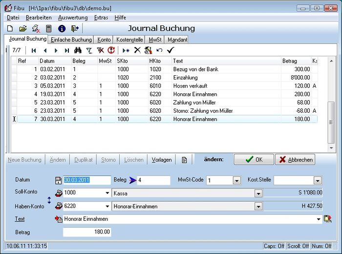 Financial Accounting Freeware Download