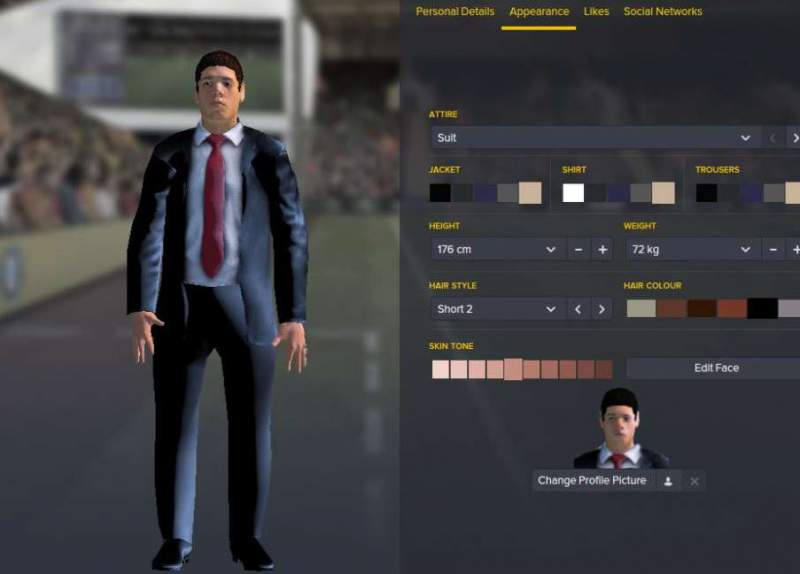 Football Manager 2016 download character