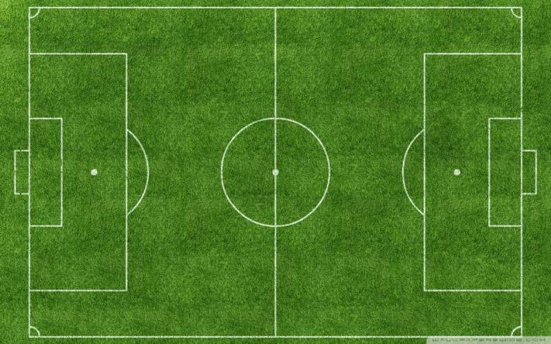 Voetbalveld Wallpaper Download