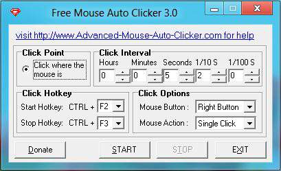 Free Mouse Auto Clicker Download