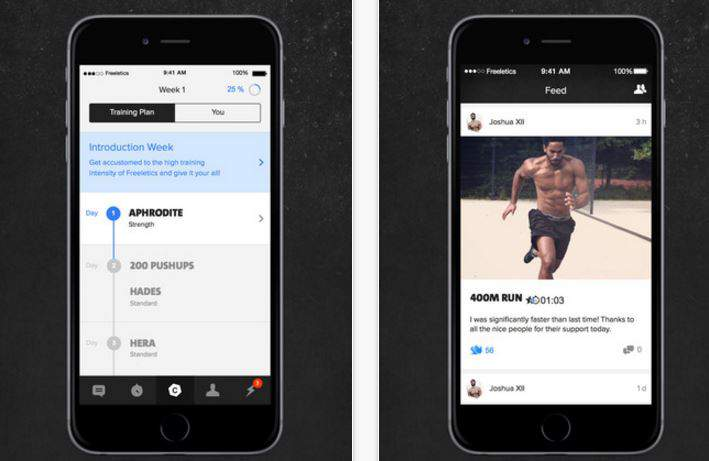 Freeletics تعلن اي تيونز