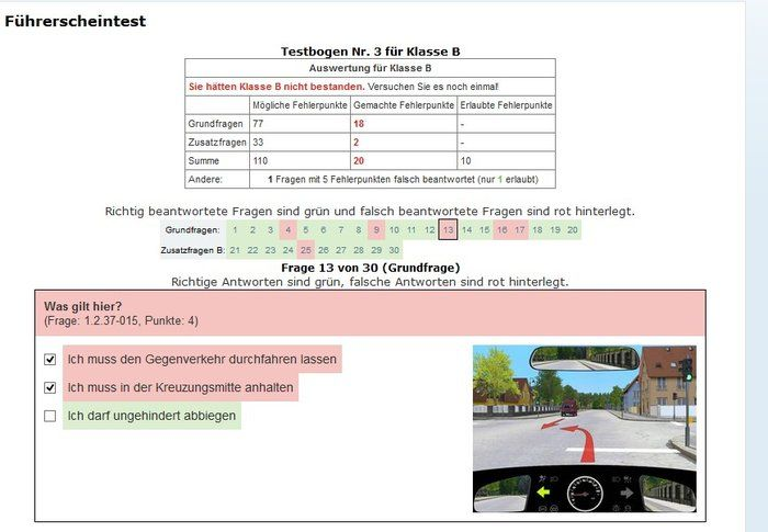 Driving Test Download evaluation