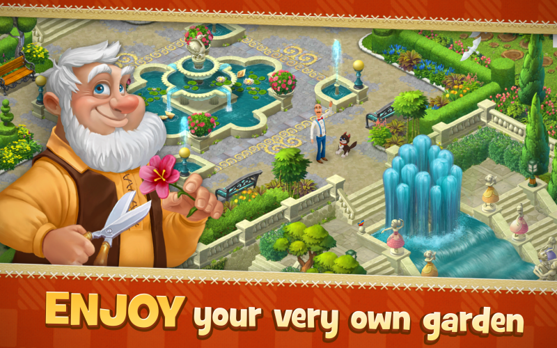 Gardenscapes - New Acres jeu de construction Cheats