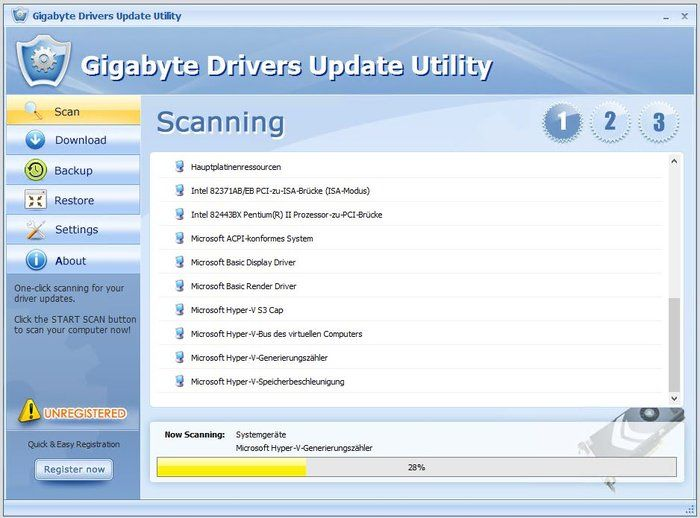 Gigabyte Drivers Update Utility Download Scan
