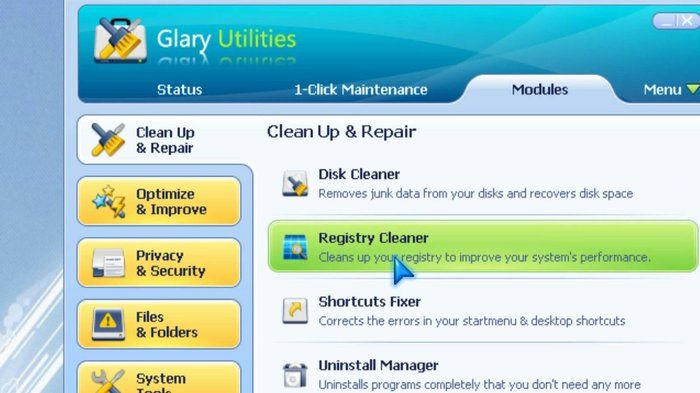 Glary Utilities Baixar Overview