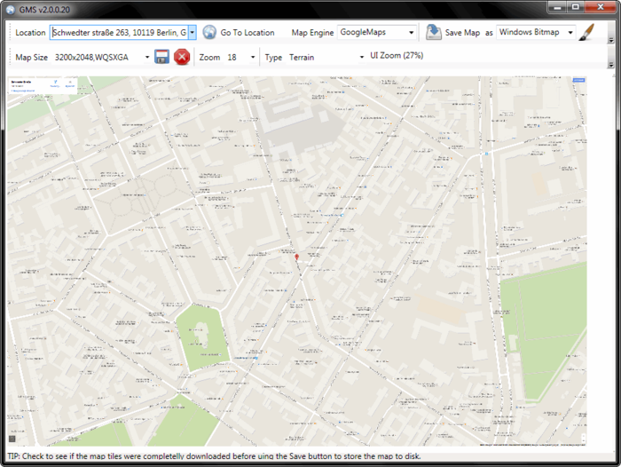 Google Maps Saver Download