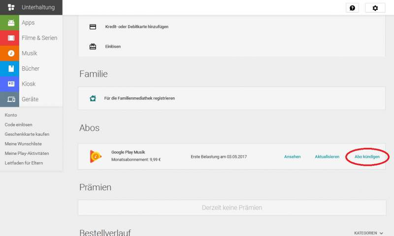 Google Play Music anuncian escritorio