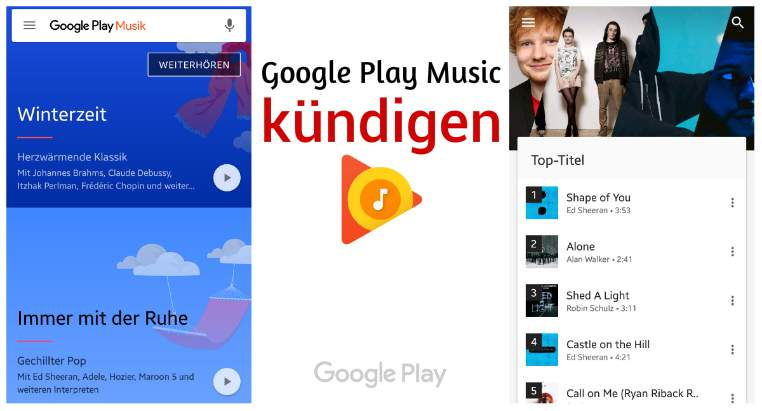 cancel Google Play Music