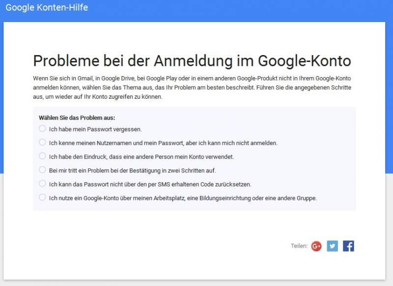 Konto umgehen google bestätigen google konto