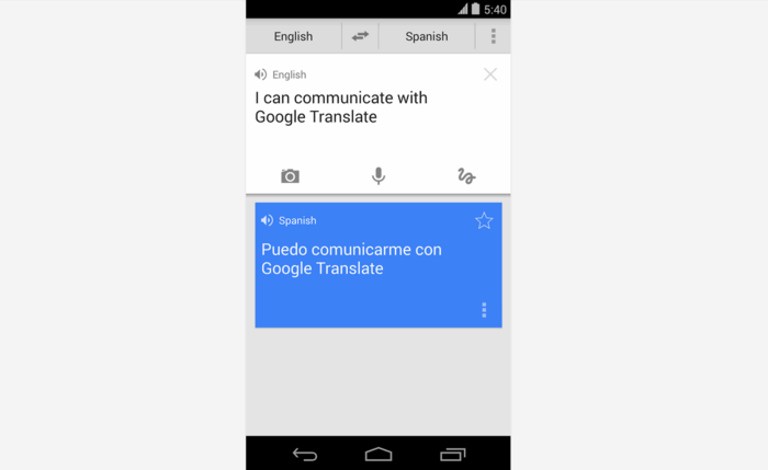 Google Translate-app