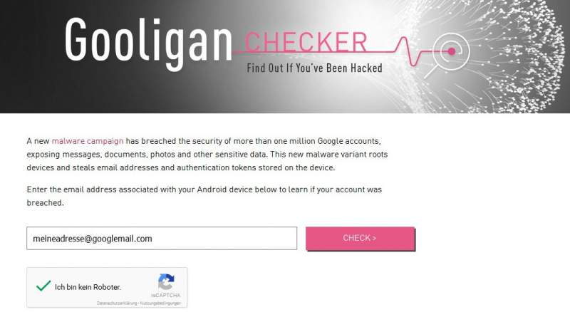 Gooligan Checker Download