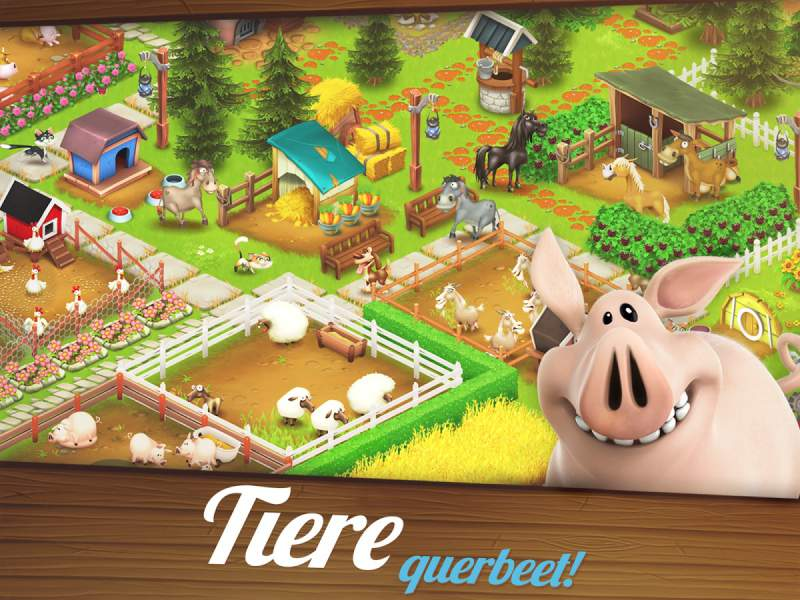 Hay Day Android Animali