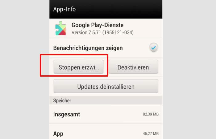 Google Play services Battery Stop