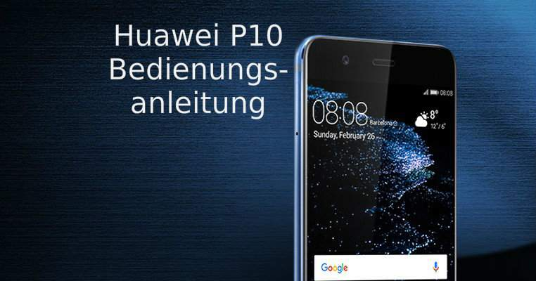 Huawei P10 Manual Download