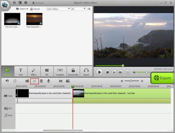 iSkysoft Video Editor Download