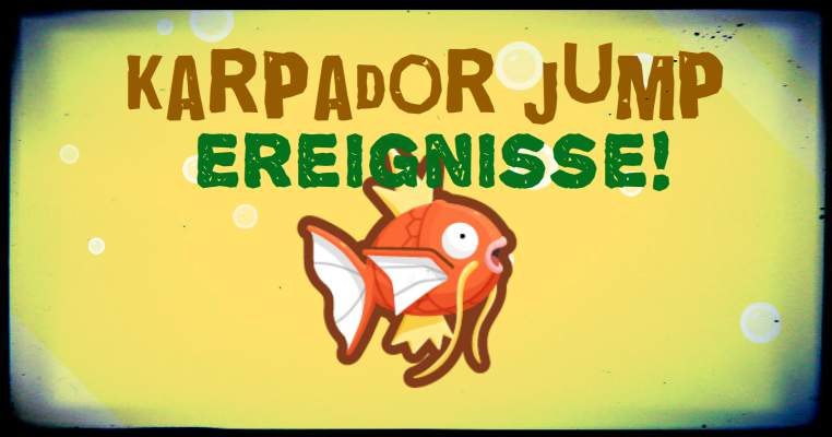 Magikarp Jump Events