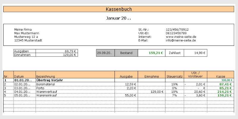Cashbook 2015 Download