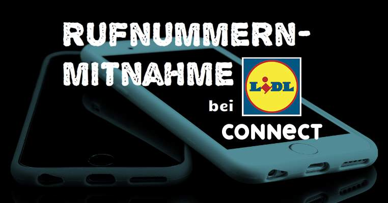Lidl Connect number portability