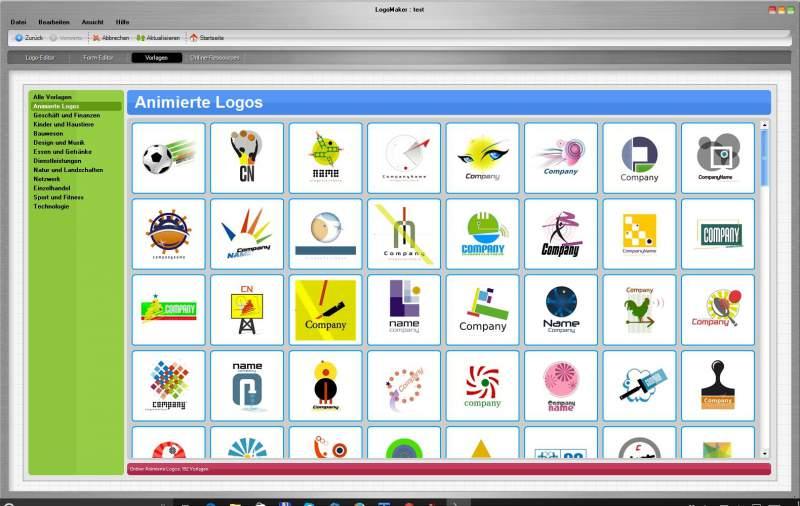 Create Logo Templates For Professional Corporate Logos