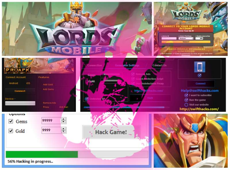 Lords Cheats mobile
