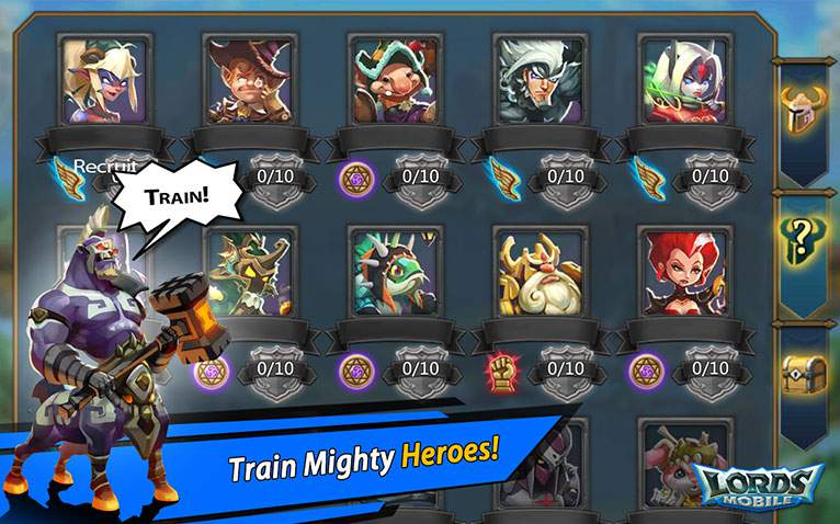 Heroes Lords mobile Hack