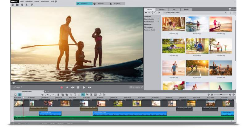 MAGIX Fotos en DVD Download Photo Story