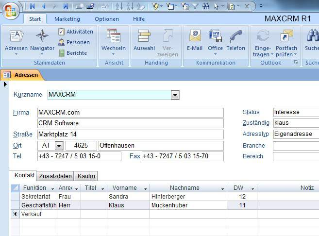 MAXCRM download