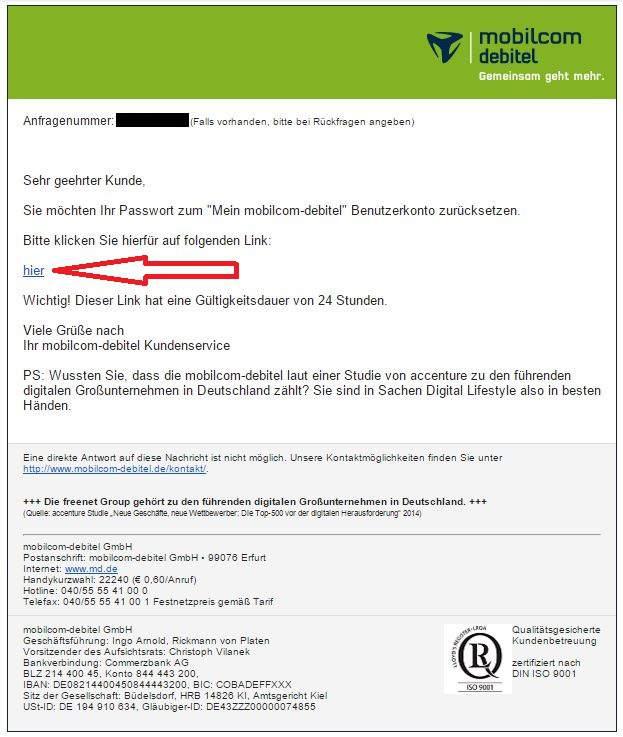 Kündigung Mobilcom Debitel Adresse