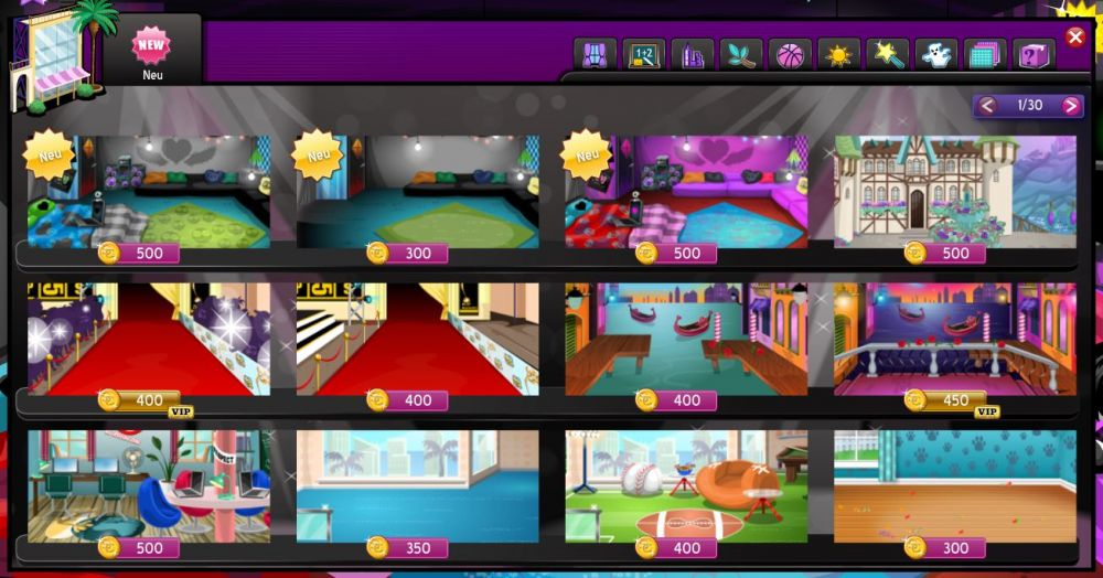 MovieStarPlanet Download Store
