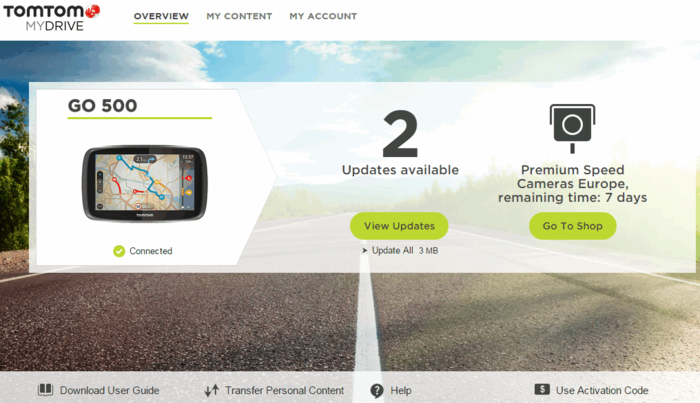 MyDrive Connect (MyTomTom)