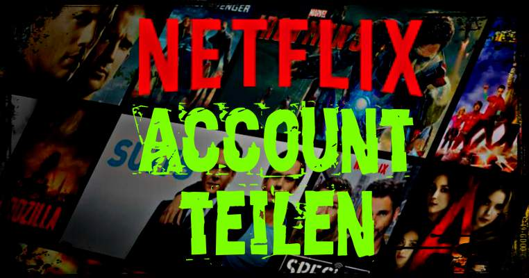 share Netflix Account