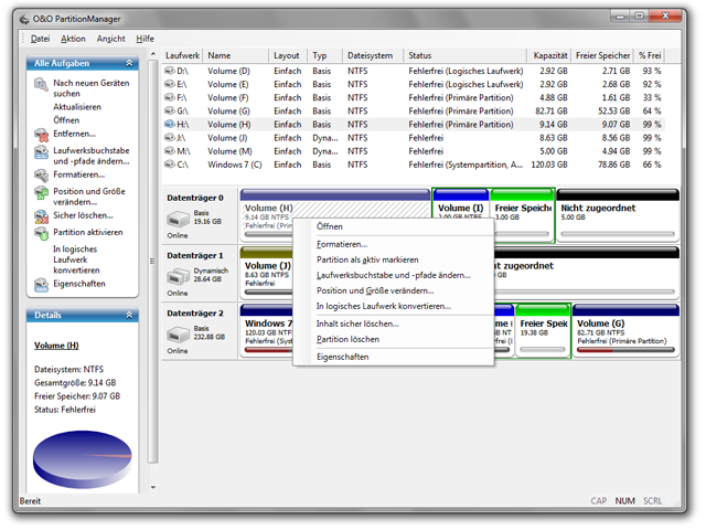 O & O Partition Manager Professional Descargar