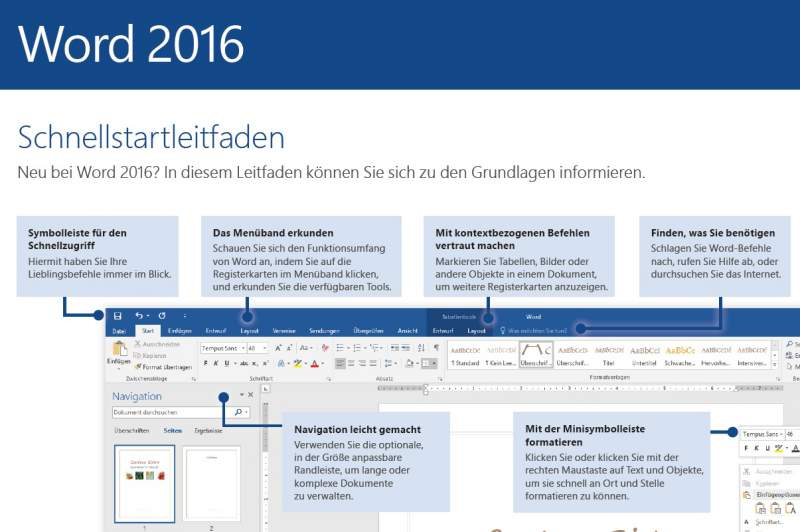 Office 2016 Manual Download Word