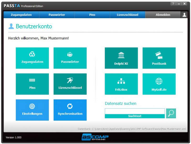 Passta - the password manager download