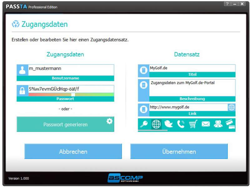 Passta - the password manager download Password Safe