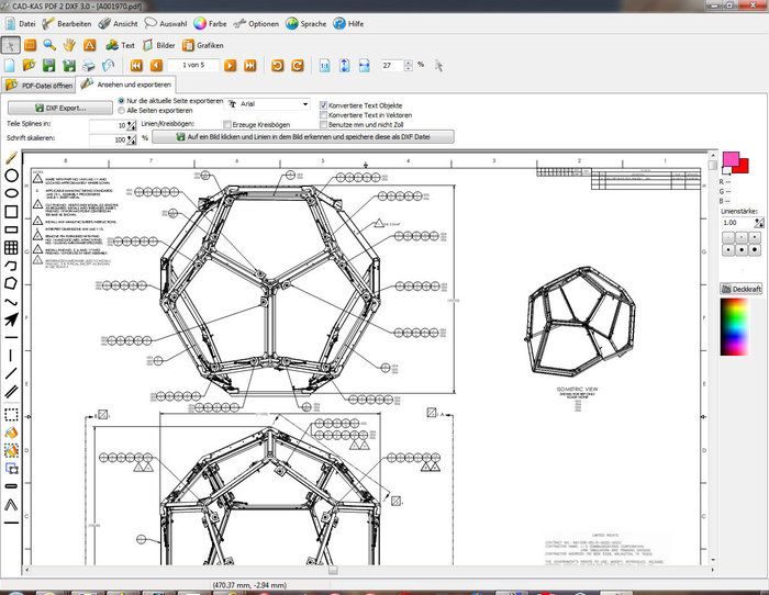 PDF to DXF Download